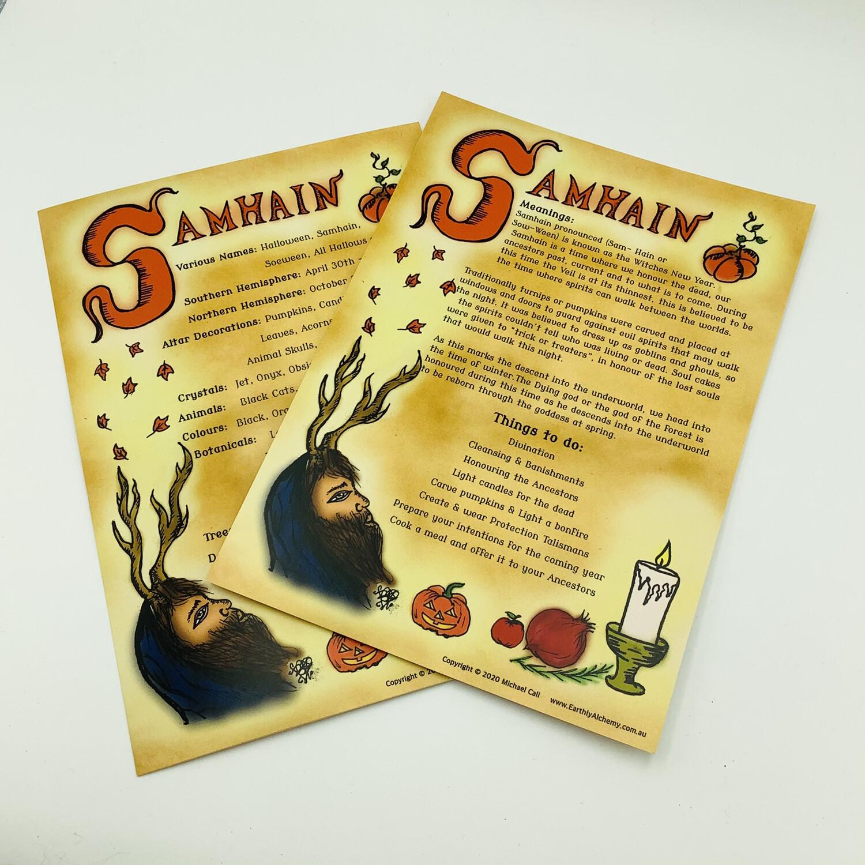 Samhain Book Of Shadows Page