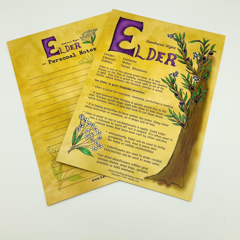 Elder Book Of Shadows Page