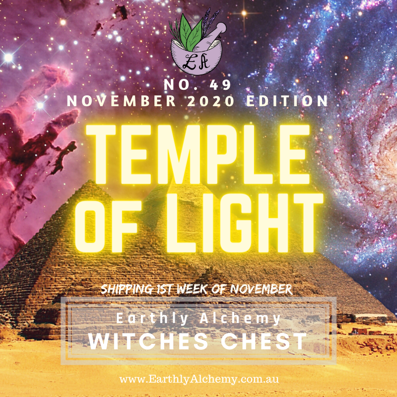 November 2020 < TEMPLE OF LIGHT >  Witches Chest no. 49