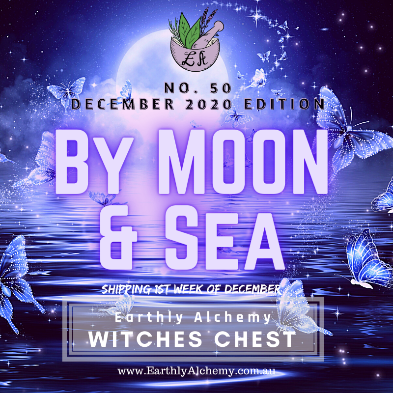 December 2020 < BY MOON & SEA >  Witches Chest no. 50