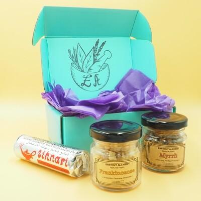 The Tidings Gift Set - Frankincense & Myrrh