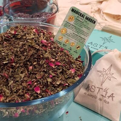 MAGICKAL GARDEN - Herbal Tea -