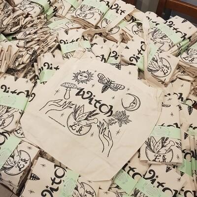 Calico Tote Bag - Original Design