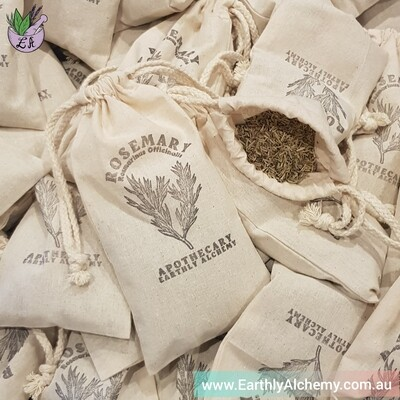 Rosemary - packed in custom eco pouch