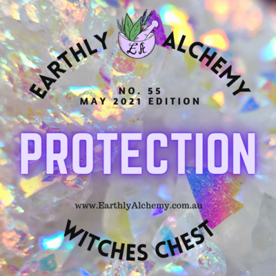 -INTERNATIONAL- MAY 2021 < PROTECTION >  Witches Chest no. 55