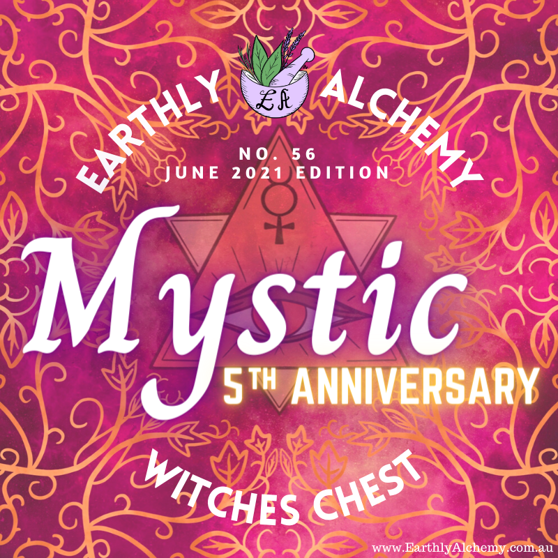 --SOLD OUT---AUSTRALIA- JUNE 2021 - 5th ANNIVERSARY < MYSTIC >  Witches Chest no. 56