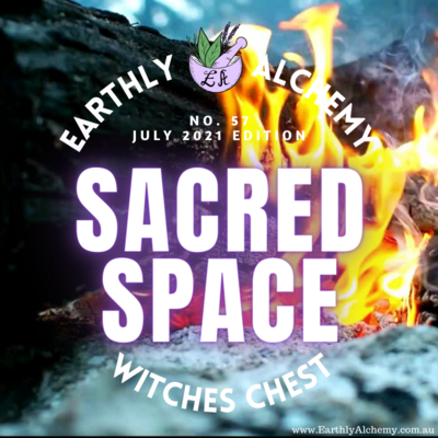 -AUSTRALIA- JULY 2021 < SACRED SPACE >  Witches Chest no. 57