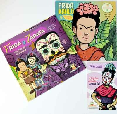 Antiprincesas Frida Kahlo + Frida y Zapata (PACK 2 BOOKS)