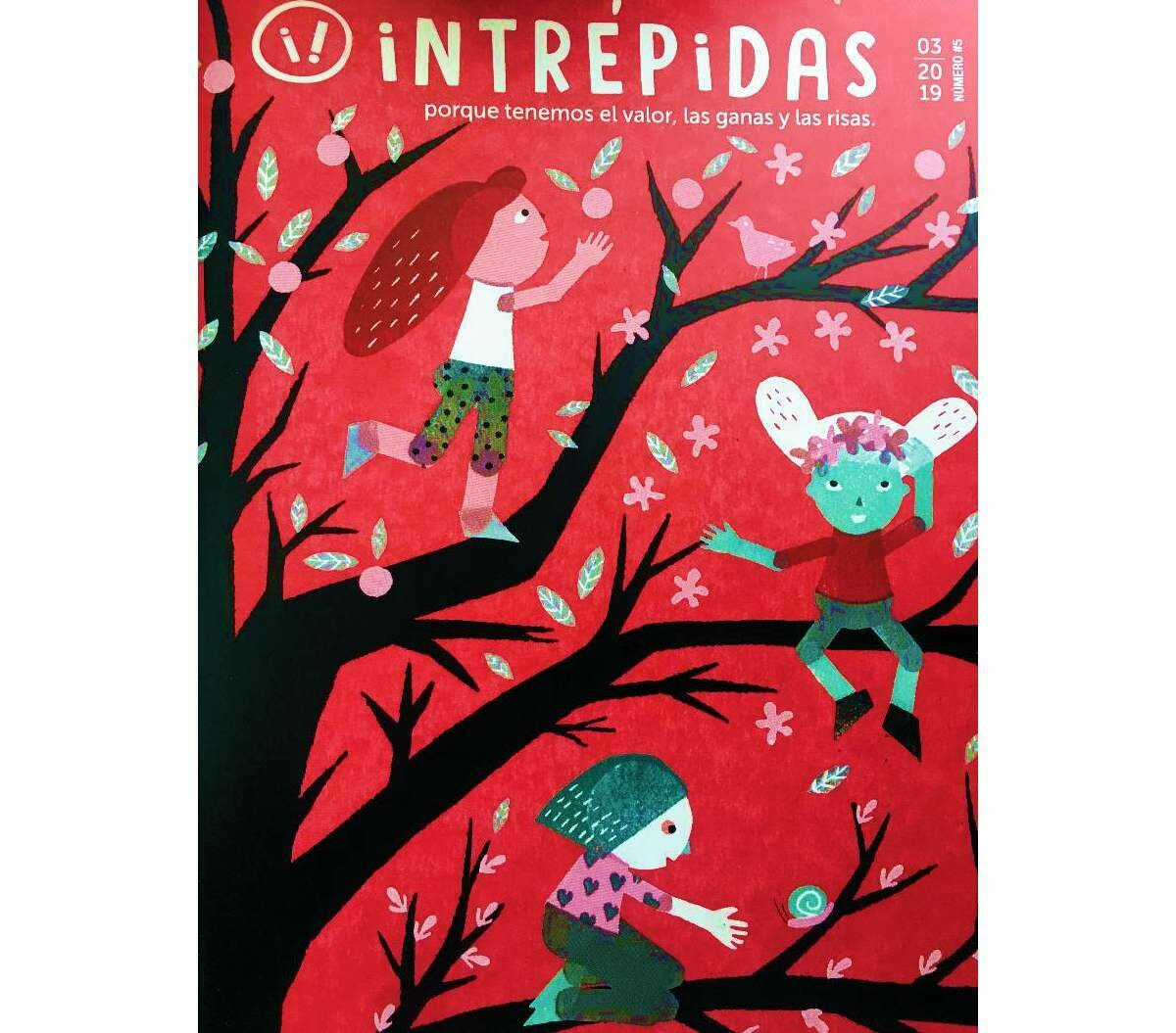 Intrépidas - Issue 5 /  Magazine for girls in Spanish