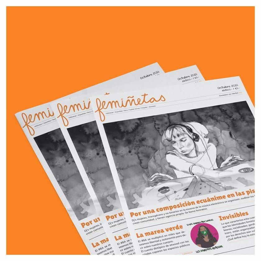 femiñetas: Feminist Printed Newspaper in Spanish