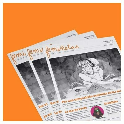 femiñetas: Feminist Printed Newspaper in Spanish