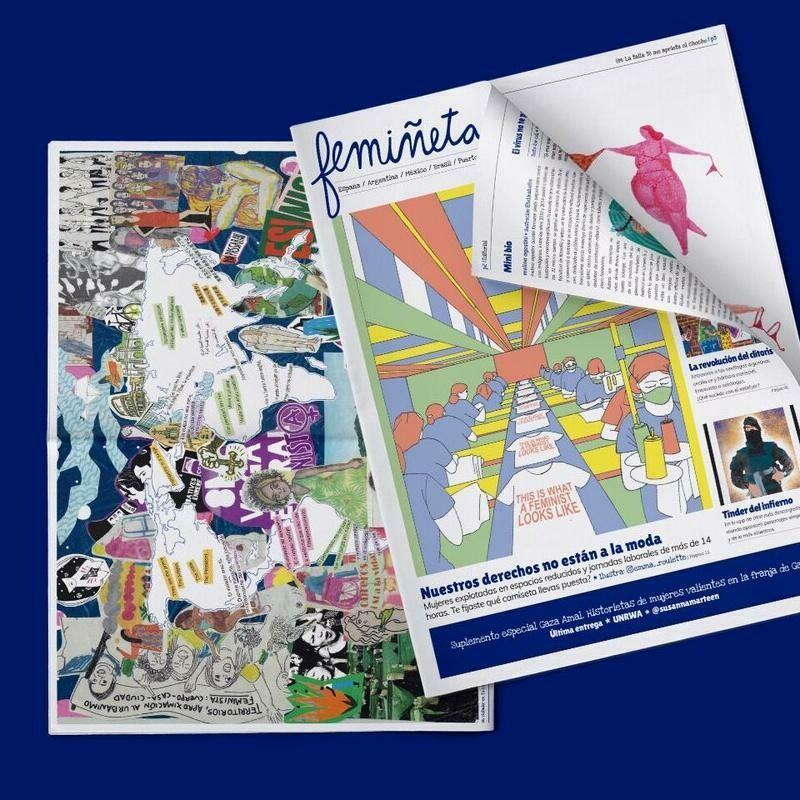 femiñetas Issue 07: Feminist Newspaper in Spanish