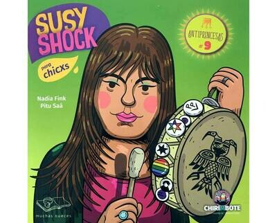 Susy Shock: Illustrated biography in Spanish