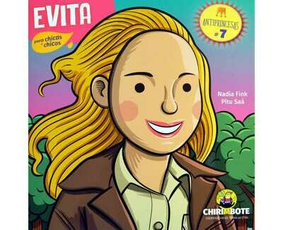 Evita - Illustrated biography in Spanish for children