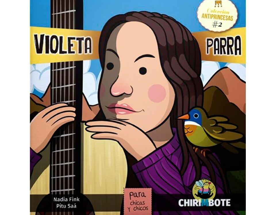 Violeta Parra - Illustrated biography in Spanish for children