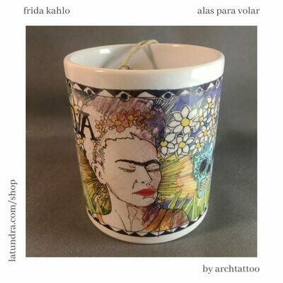 Frida Kahlo Mug by La Tundra