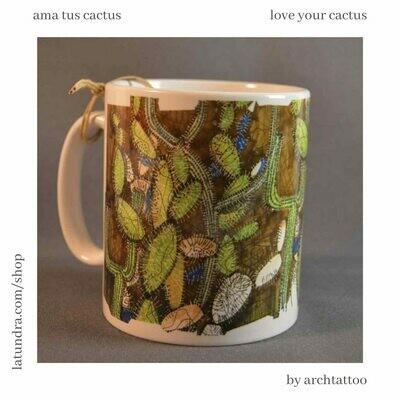 Love your Cactus Mug by La Tundra