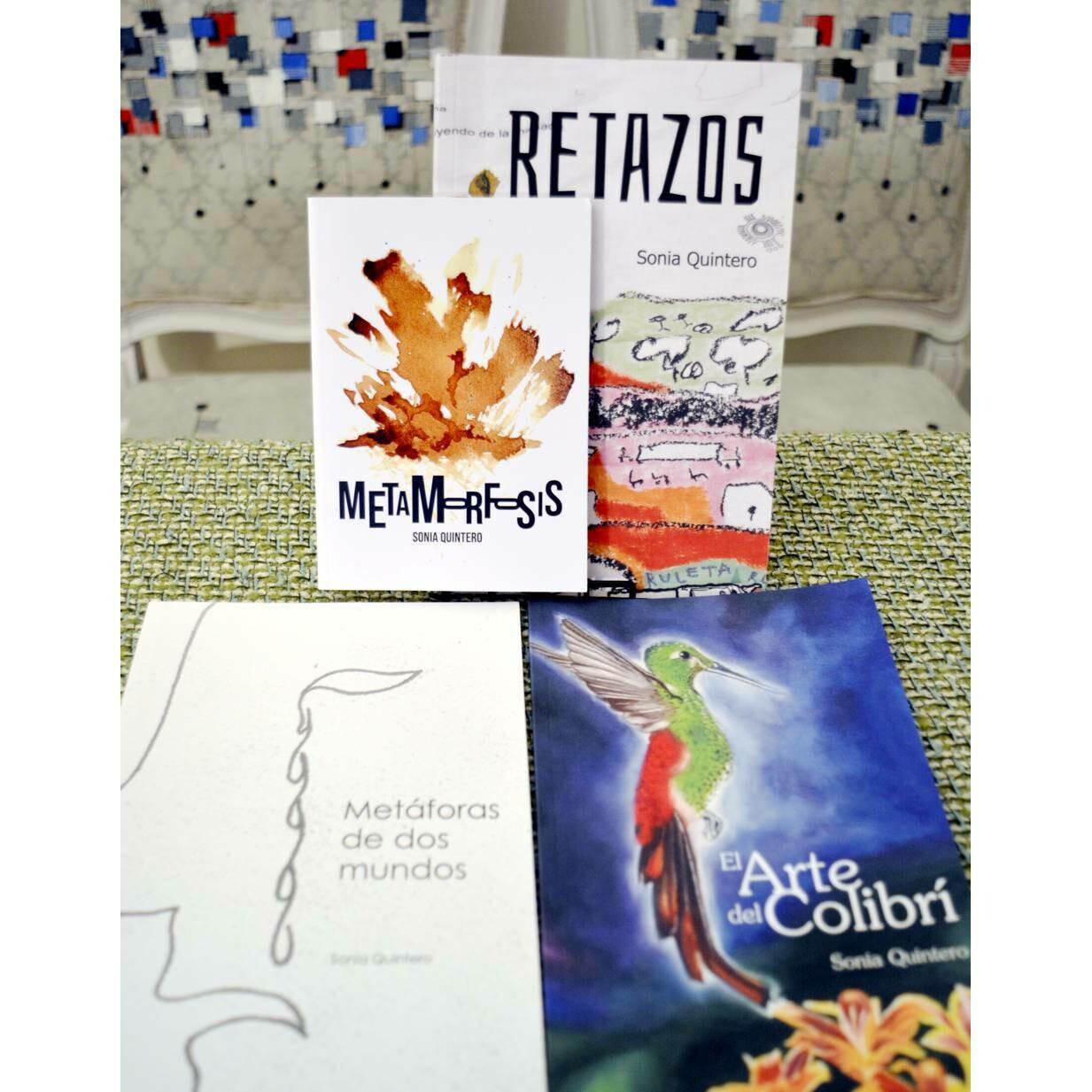 Sonia Quintero Bundle Poetry Books in Spanish