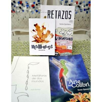 Sonia Quintero Bundle Poetry Books in Spanish