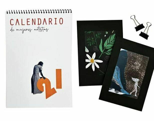 Calendar 2021 Women Artists by Vulva Fanzine