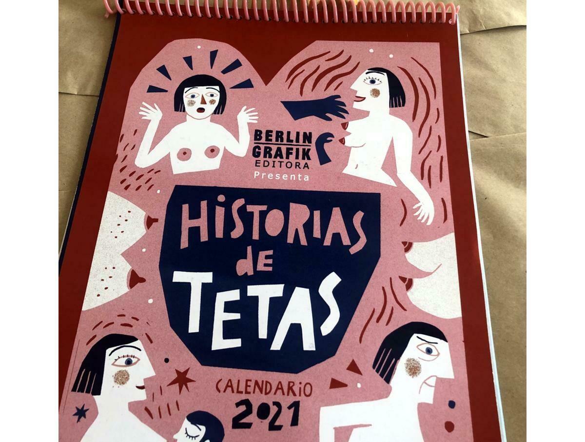Calendar 2021: 'Historias de Tetas' curated by Titihoon