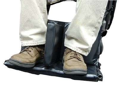 """Footrest Extender with 1.5"""" Separator"""