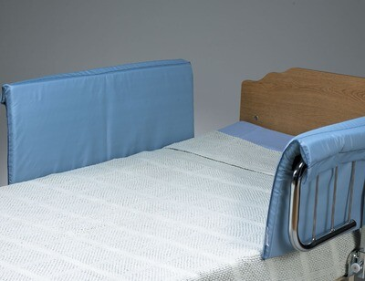Half-Size Vinyl Bed Rail Pads