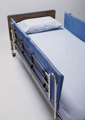 """1"""" thick Vinyl Bed Rail Pads"""