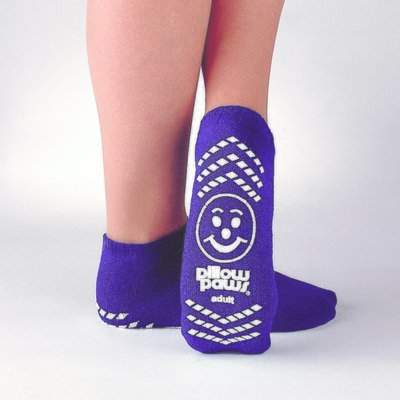 Pillow Paws Single Imprint Non Slip Grip Socks