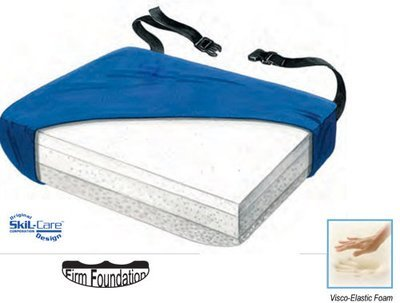 Tri Foam Visco Cushion-Curved Bottom