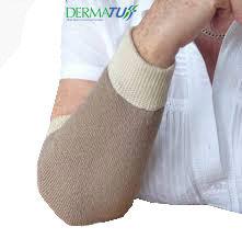 DermaTuff Sleeves for Skin Tears. Oatmeal or Black