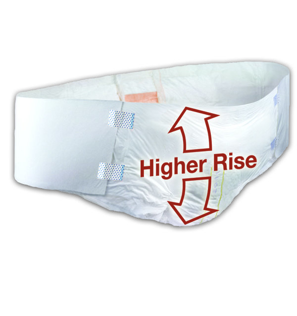 High Rise Disposable Briefs (case of 32)