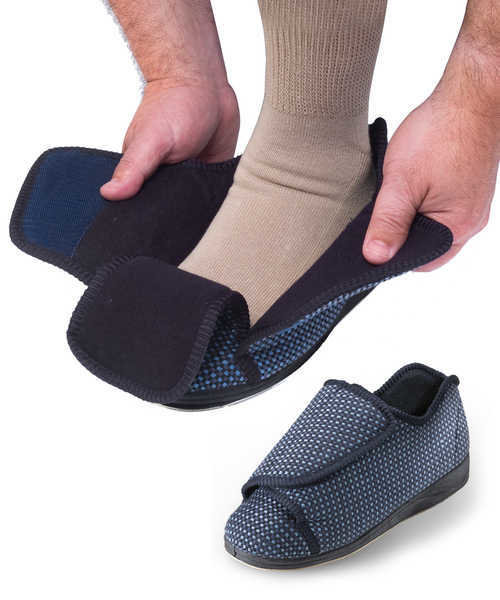 Mens Extra Extra Wide Slippers