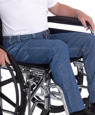 Wheelchair Jeans For Men - Quality Soft Denim Style Jeans For Wheelchair Users