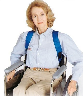 Elderly Posture Support for Wheelchair