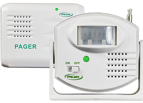 Motion Sensor Pager Kit Elderly Fall Alarm