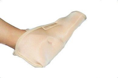 DermaSaver Heel Protector With Toe Cover