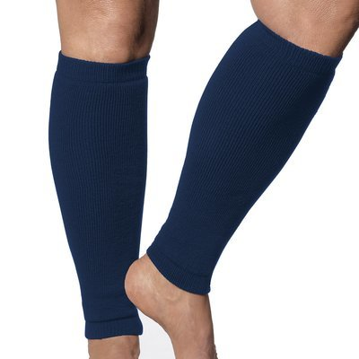 Stop Skin Tears with UPF 50+ Sun Protection Leg Sleeves -Heavy (Regular) Weight. Diabetes or Raynauds help. (Pair)