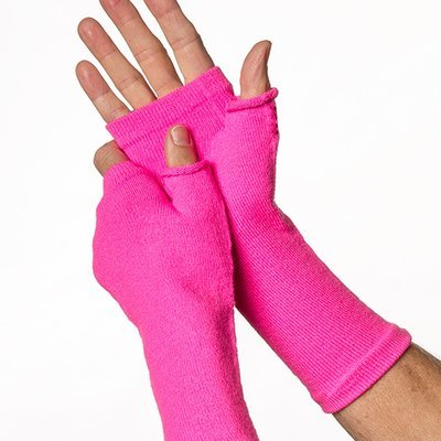 Protection for hands.Fingerless Gloves for fragile skin  UPF 50+ Sun Protection Medium Weight. (Pair)
