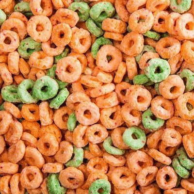 Apple O's Cereal