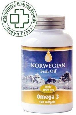NORWEGIAN Fish Oil Омега-3 Форте