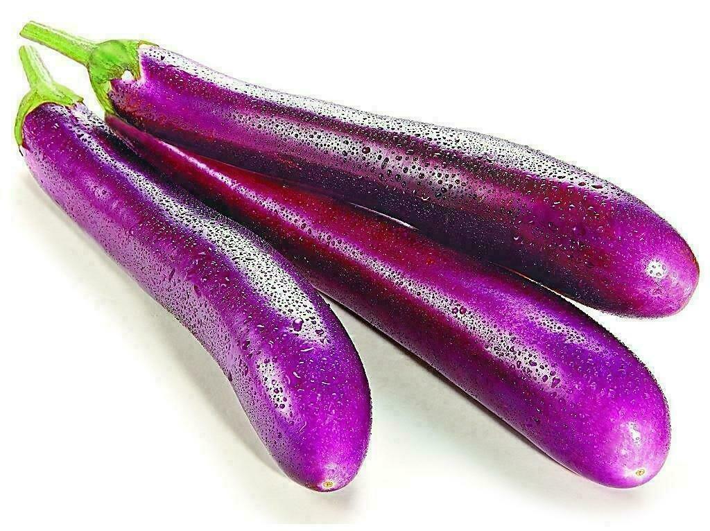 VEG【蔬菜】茄子 5根 ~2lbs