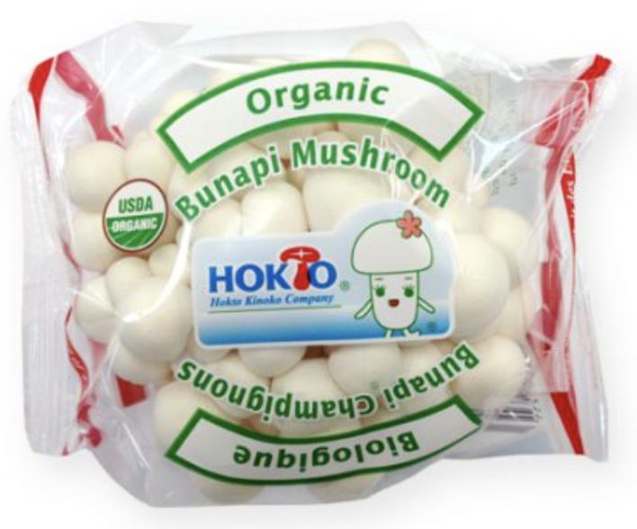 VEG【蔬菜】有机白玉菇 ~100g(3.5oz)