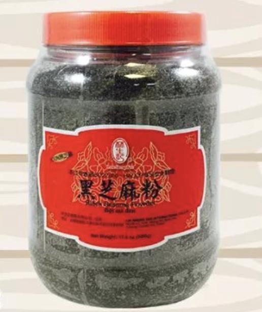 林生记 黑芝麻粉 ~500g(17.6oz) Lam Sheng Kee Black Sesame Powder 500g(17.6oz)