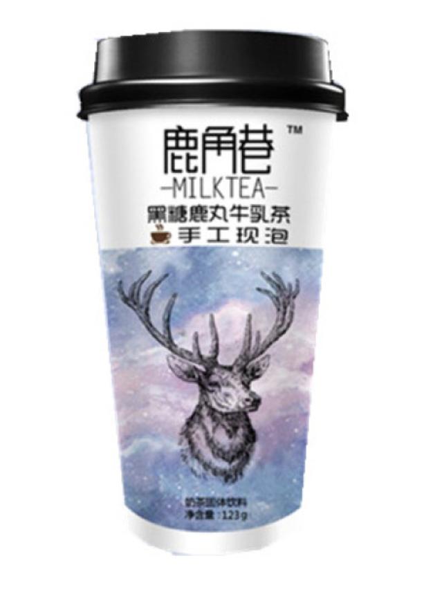 GROC【杂货】鹿角巷 黑糖鹿丸牛乳茶 ~123g