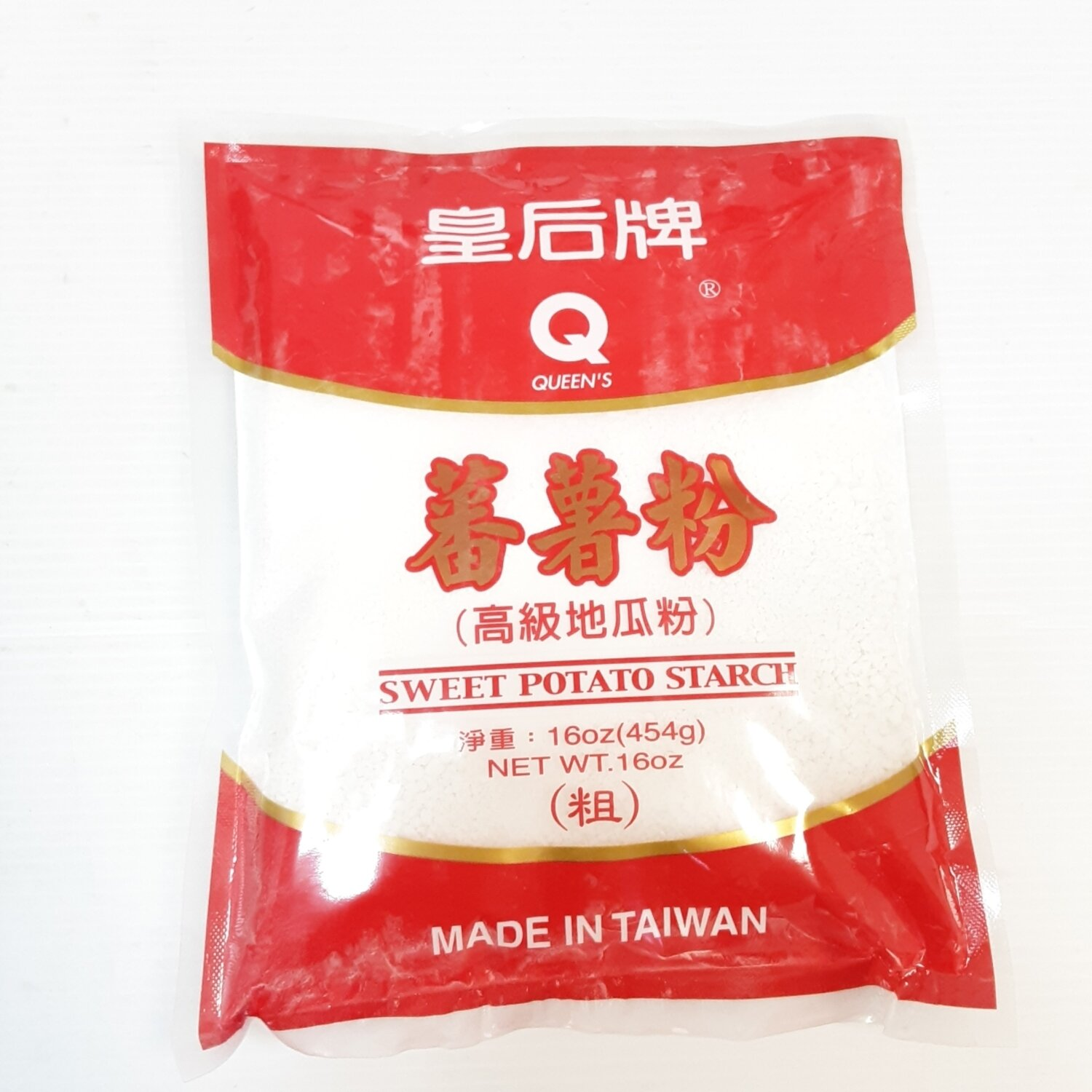 皇后牌 番薯粉(粗) QUEEN'S SWEET POTATO STARCH ~454g(16 oz)