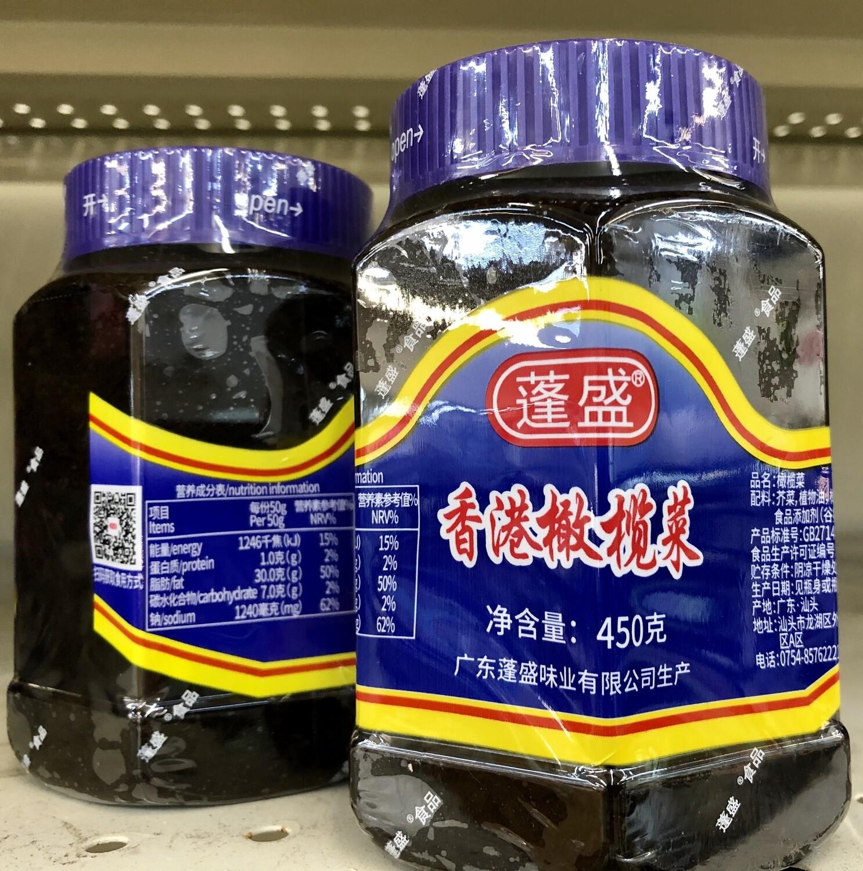 蓬盛香港橄榄菜 Olive Vegetables Hong Kong ~450g