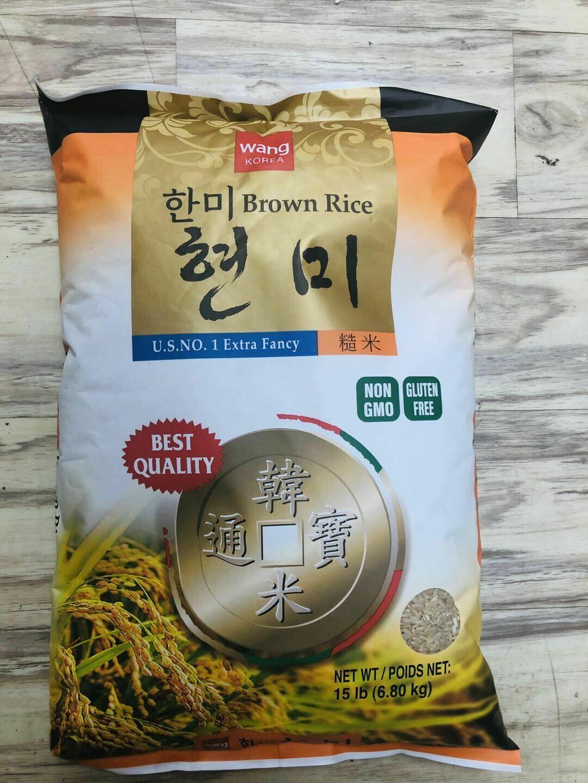 GROC【杂货】Wang Korea 糙米(限购1包) ~15lb