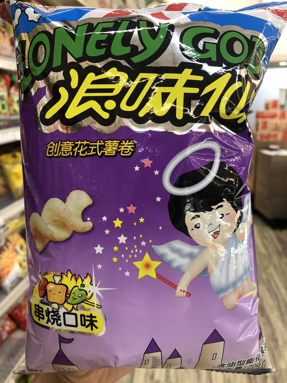 GROC【杂货】浪味仙薯卷串烧口味 ~70g