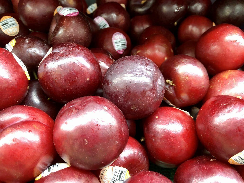 FRUI【水果】红李子 6个~约1lb